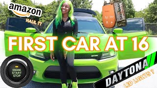 I GOT MY FIRST CAR AT 16 ?!!! | Amazon Accessories
