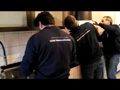 Cucine Lube e Creokitchens store Pratola P. - Abruzzo - KYRA - Video - LUBE CREO Store Pratola Peligna