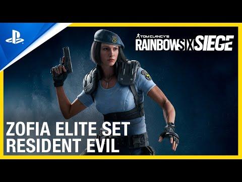 Rainbow Six Siege Zofia Skin Is Resident Evil Jill Valentine Cosplay