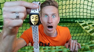 APPLE WATCH HACKED By Project Zorgo Hacker!  Hacker Controls us for 24 hours challenge