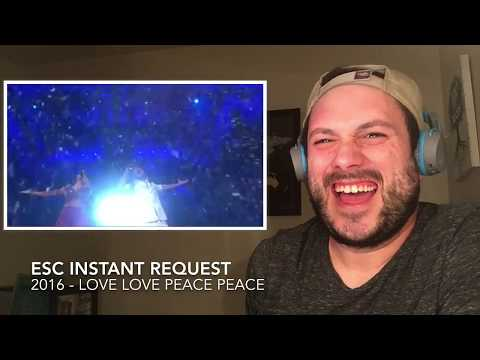 ESC Instant Reaction Request - 2016 - Love Love Peace Peace