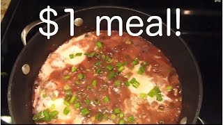 FIVE MINUTE DOLLAR MEAL!