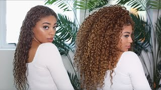 MY CURRENT CURLY HAIR ROUTINE!   Jasmeannnn