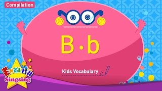 Kids từ vựng biên soạn - Words bắt đầu với B, b