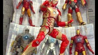 Iron Man Stop Motion   Hall Of Armors