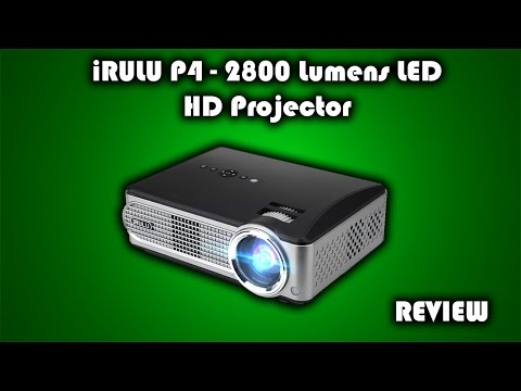 iRULU P4 – 2800 Lumens LED HD Projector Review