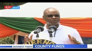 Counties cry foul on the delay of county funds from National Gov't