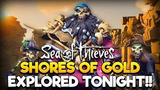 Sea of Thieves - ON SHORES OF GOLD TALL TALE!! /w MixelPlx