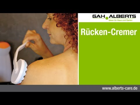 Alberts care - Rücken-Cremer