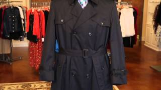 The Best Colors For A Mens Trench Coat For Business : Makeover Tips