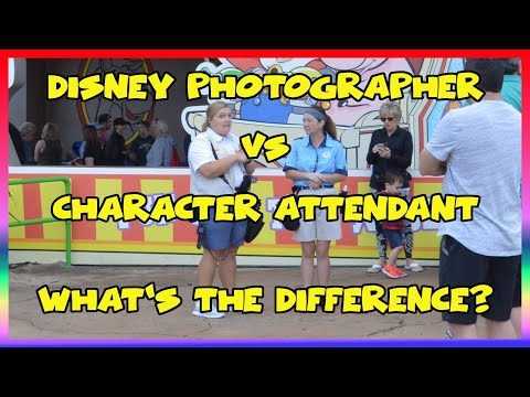 Disney Photographer/ Character Attendant: What's the Difference?- Confessions of a Theme Park Worker