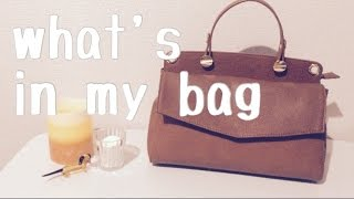 What's In My Bag 【2016/April】