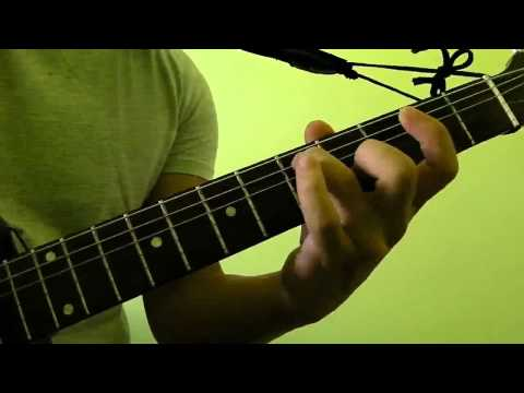 How to Press and Play Gm7 Guitar Bar Chord