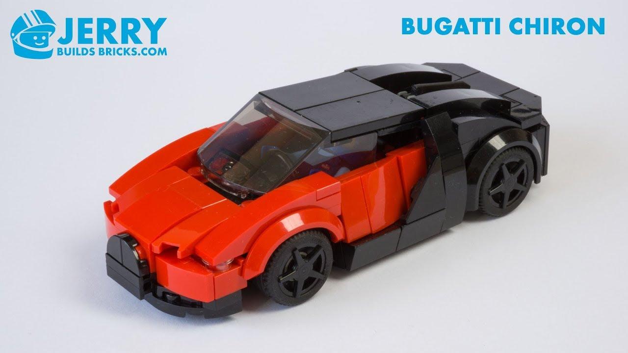 LEGO Bugatti Chiron instructions (MOC #107)