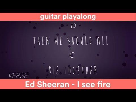 I See Fire Ed Sheeran Lyrics
