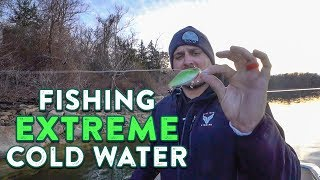 How To Catch Bass In EXTREMELY COLD Water!