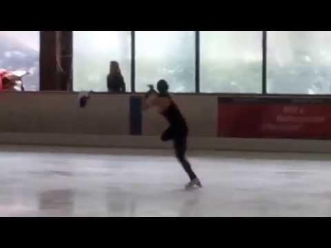 Mirai Nagasu - more Triple Axel attempts in Nebelhorn Trophy practice