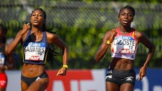 Albi 2020 : Finale 400 m F (Sokhna Lacoste en 52''48)