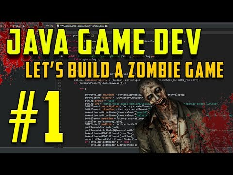 Java Programming: Let's Build a Zombie Game #1