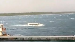 Video of duck boat's final moments show it struggling to stay afloat