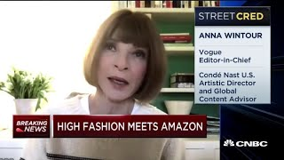 Vogue Editor-in-Chief Anna Wintour On Amazon Collaboration