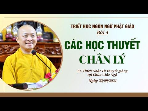 Các học thuyết chân lý l Triết học ngôn ngữ Phật giáo