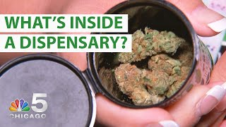 Take a Look Inside a Cannabis Dispensary | NBC Chicago