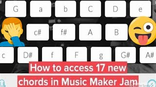 "How to unlock 17 ""hidden"" harmonies in Music Maker Jam (Tutorial, no hack required) #musicmakerjam"