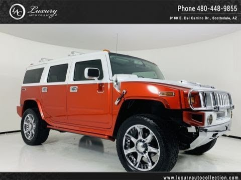 Pre-Owned 2005 HUMMER H2 SUV / Supercharged!!