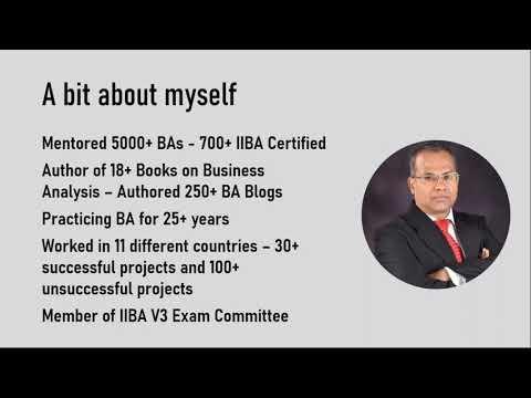 Study Tips You Need for Your IIBA Certification Exam - YouTube