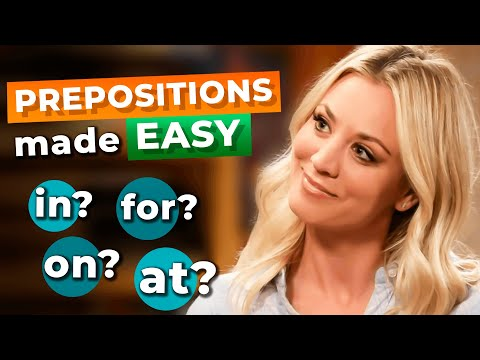 "Confusing PREPOSITIONS? Here's How You Should Use ""About"", ""For"", ""With"" and 15 Other Prepositions"
