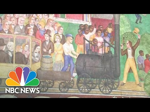 Controversial Mural At University Of Kentucky Uncovered | NBC News
