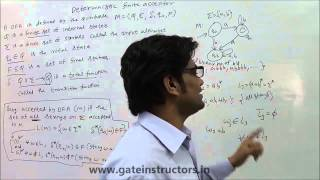 Language Accepted by DFA (Deterministic Finite Automata) | Theory of Computation | 014