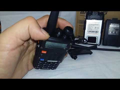 Baofeng UV-5RT видео обзор