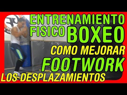 Ejercicios para mejorar los desplazamientos en el boxeo: Footwork o Trabajo de pies - 1