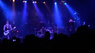 Towers (On My Way) - Young Guns - Lazerfest 2015