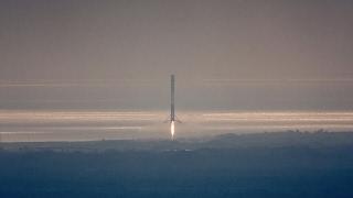Моменты старта и посадки SpaceX Falcon 9 [CRS-10   19/02/2017]