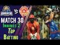 watch Karachi KingsBatting   Karachi Kings Vs Islamabad United  Match 30   16 March   HBL PSL 2018