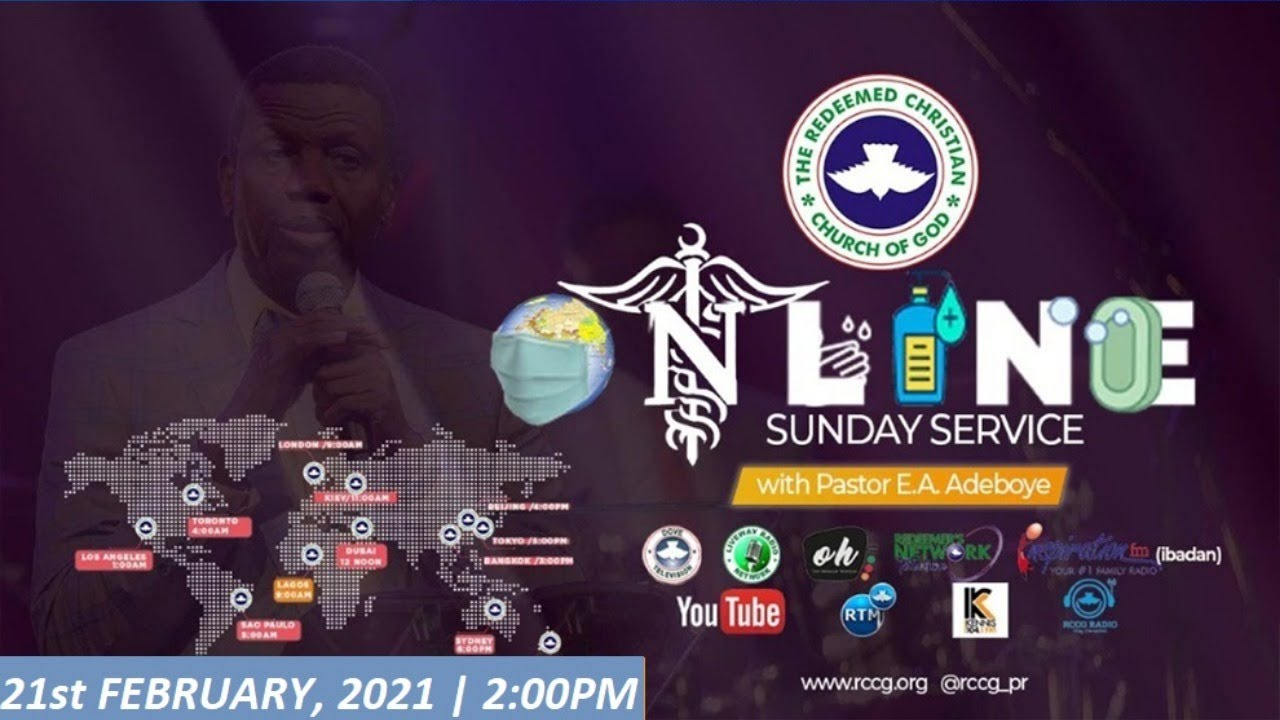 RCCG 21st February 2021 Sunday Service with Pastor E.A Adeboye