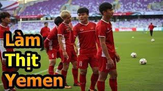Thử Thách Bóng Đá Asian Cup 2019 ĐT Việt Nam VS Yemen - Quang Hải , Công Phượng Văn Toàn sẽ ghi bàn