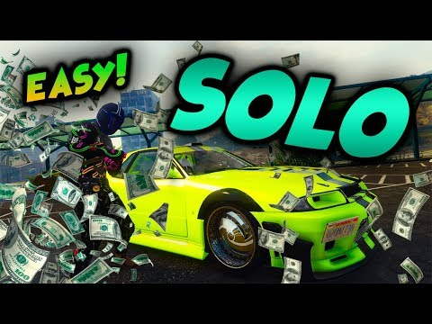 *NEW*100% SOLO MONEY GLITCH*EASY CAR DUPLICATION GLITCH*RETRO DUPE*GTA 5 ONLINE 1.44 $MILLIONS$....