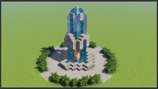 Minecraft: How to Build a Fountain #3