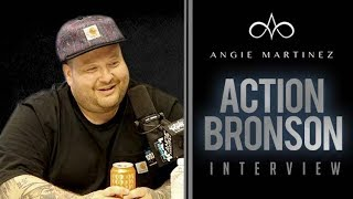The Angie Martinez Show - Action Bronson Talks Shaving His Beard, TV Show, + Beer Tastes w/ Angie
