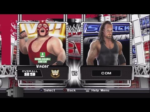 Download WWE Smackdown vs Raw 2009 Character Select Screen Including All DLC Packs Roster HD Mp4 3GP Video and MP3