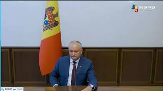 INTERVIU Igor Dodon: Marile puteri încearcă să atragă țările mai mici, precum R. Moldova, în lupta geopolitică