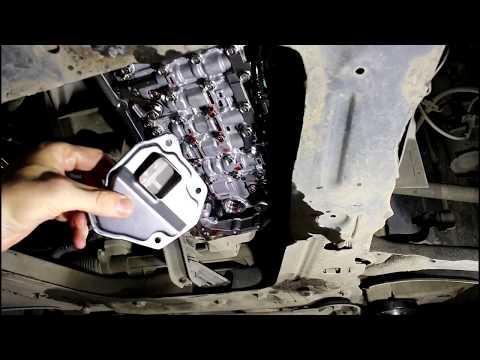 Фото к видео: Замена масла и фильтров в вариаторе Nissan Qashqai 2,0 Ниссан Кашкай 2012 года
