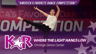 """""""Where The Lights Hang Low"""" from Onstage Dance Center"""