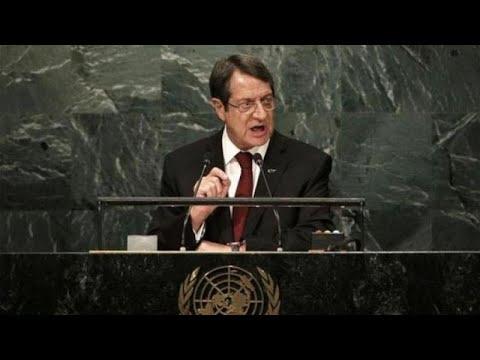 Αναστασιάδης: Oχι υπό συνθήκες εκφοβισμού η επανέναρξη των συνομιλιών…