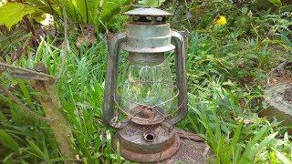Rusty Kerosene Lamp restoration | Oil Lamp Restoration