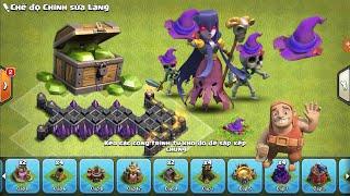 Clash of Clans War - Được 1000 gem Khi Đào Nón Phù thủy Halloween hay không